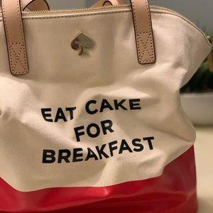 Kate Spade New York: Eat Cake For Breakfast Tote